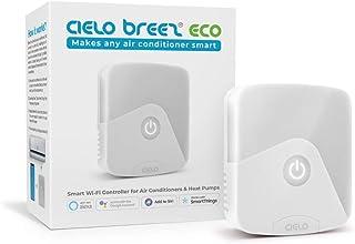 Cielo Breez Eco Smart AC Controller | Works with Mini Split, Window & Portable ACS | WiFi, Alexa, Google, SmartThings, Fre...