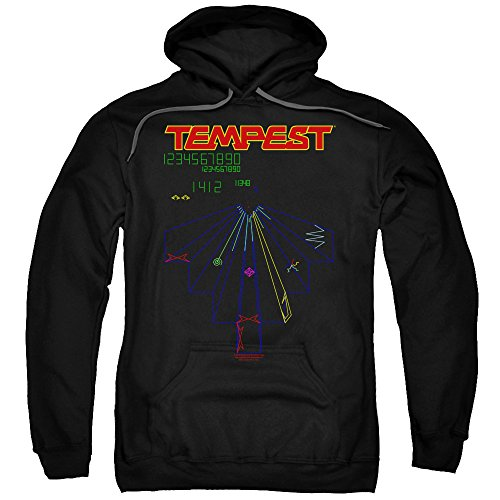 Adults Atari Tempest Game Hoodie , Unisex, S to 5XL