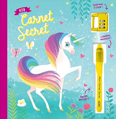 Mon carnet secret - licornes