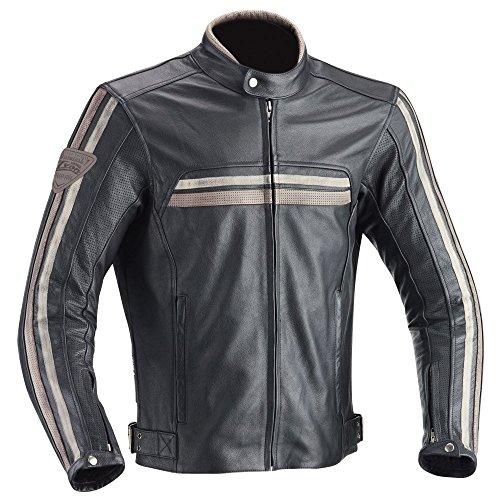 Ixon Chaqueta de moto Heroes negro, L