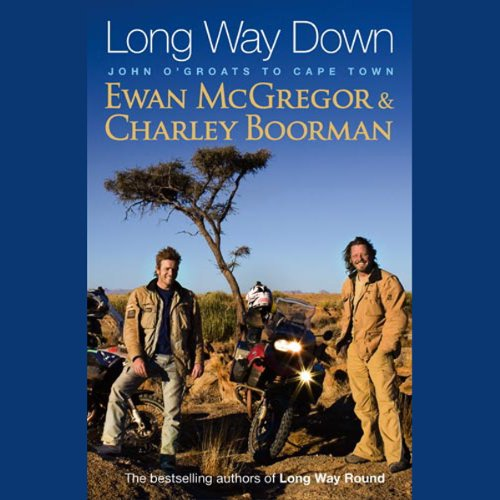 Long Way Down audiobook cover art