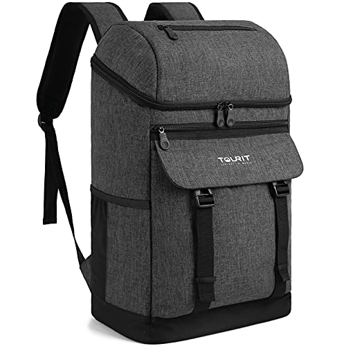 TOURIT Backpack Cooler Leak proof 28 Cans Cooler Backpack Insulated Waterproof