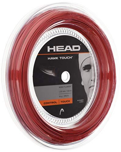Head Unisex – Adulto Hawk Touch Rotolo 120 Corda da Tennis, Unisex- Adulto, 281214-16 RD, Rosso,...