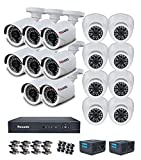 iBall CCTV FULL HD 1080P 2.0 MP CCTV 16 Cameras With 16 Channel HD DVR - Kit
