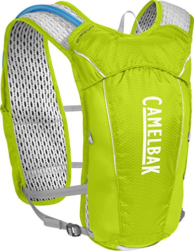 CamelBak Circuit Crux Reservoir Hydration Vest, Lime Punch/Silver, 1.5 L/50 oz
