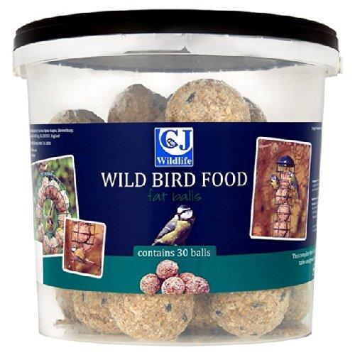 CJ Wildlife Fat Balls Bucket 30 per pack