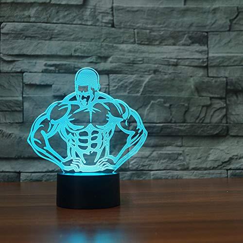 Jiushixw 3D acryl nachtlampje met afstandsbediening van kleur veranderende tafellamp met afstandsbediening lamp muziekinstrument trompet nachtlamp baby cadeau voor kinderen