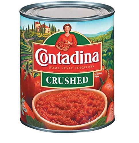 Contadina Roma Style Crushed Tomatoes 28 oz (Pack of 6)