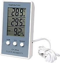 uu19ee Pantalla LCD Digital Termómetro Higrómetro Estación Meteorológica para Temperatura Interior Monitoreo De Humedad
