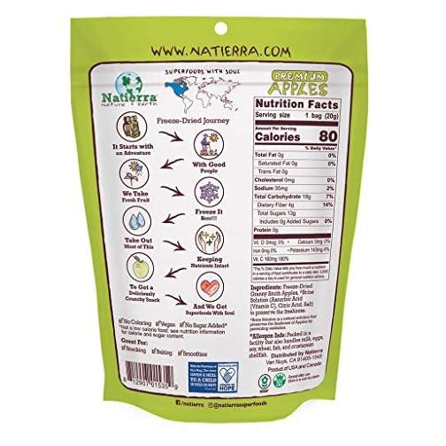 Natierra Nature's Organic Freeze-Dried Bananas | Gluten Free & Vegan | 2.5 Ounce (Pack of 3) 4
