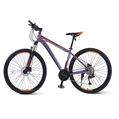 Bici da strada per adulti, adulti-alto tenore di carbonio telaio in acciaio ultra-Luce della bicicletta, il lavoro e la scuola esterna che guida la bicicletta polivalente Città,Grigio,26 inches