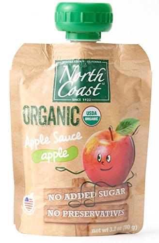 オーガニック アップルソース パウチタイプ (有機 化学調味料無添加 砂糖不使用 100%天然 ノースコースト)
