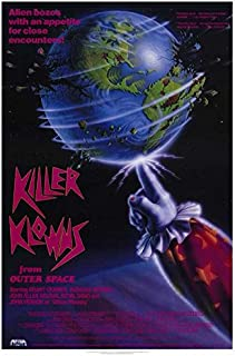 Killer Klowns From Outer Space POSTER Movie (27 x 40 Inches - 69cm x 102cm) (1988)