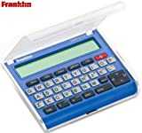 Franklin Spelling Ace SA-209 with 110,000 Word Phonetic Spell Corrector , 500,000 Synonyms & Antonyms , Word Building Exercises , Crossword Solver & Homophone Guide