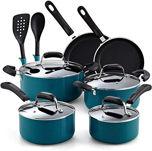 Cook N Home 12-Piece Stay Cool Handle