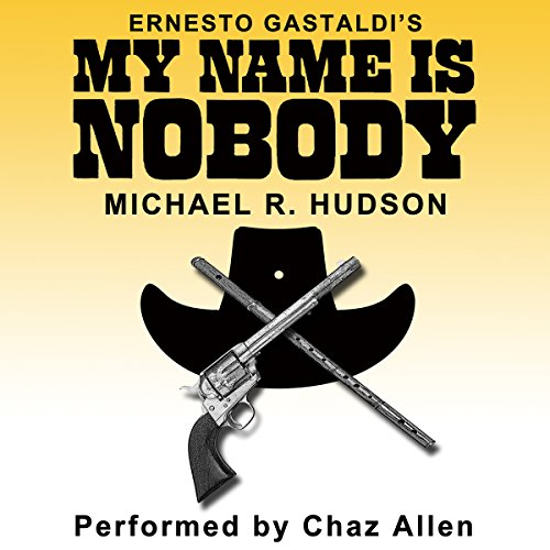 My Name Is Nobody audiobook cover art