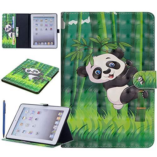 Careynoce 3D Emboss PU lederen Flip portemonnee beschermhoes voor Apple iPad iPad Mini 4 M05