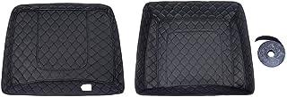 Advanblack Razor Reisepaket Liner fit für Harley Pizza Box Tour pak schwarz