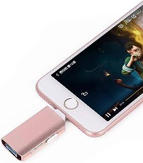 Unidades flash USB para iPhone [3 en 1] OTG Jump Drive, unidades de pulgar externas Micro USB de almacenamiento Pen Drive,...