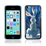 CelebrityCase Polycarbonate Hard Back Case Cover for Apple iPhone 5C ( Cute Rabbit )