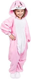 Kids Animal Bunny Pajama Onesie - Soft and Comfortable with Pockets