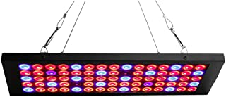 Exmate 15W LED Plant Grow Lights, Indoor Plant Growing Lights Bulb Panel Full Spectrum Growing Lamp for Greenhouse, Hydroponic, Veg, Succulents, Seedlings and Flower