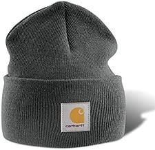 Carhartt Men's Acrylic Stocking Cap Charcoal Grey One Size
