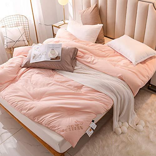 YFFS Duvet, Bedding, Microfiber Anti-allergic, Super Soft and Easy To Clean, Hollow Fiber Super Soft and Easy To Clean, Comfortable (C,220 * 240 CM (4KG))