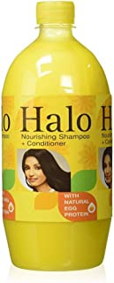 Halo Nourishing Shampoo with Natural Egg Protein, 1L