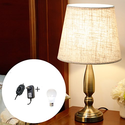 OUZHOUD Luz De Escritorio Lámpara De Mesa LED Regulable Lámpara De Mesa Creativa De...