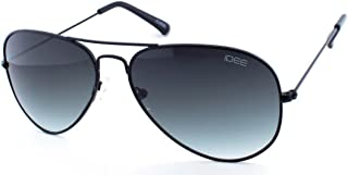 IDEE Gradient Aviator Unisex Sunglasses - (IDS2001C50SG|58|Smoke Gradient Color Lens)