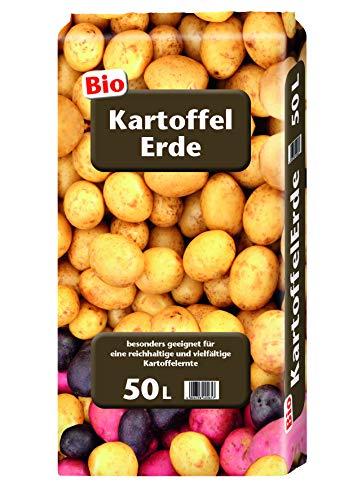 Floragard Kartoffelerde 50 Liter - Bio-Gemüseerde für Speisekartoffeln und Süßkartoffeln im Freiland und in Gefäßen