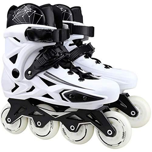 Ajustable Patines En LíNea Inline Skates Profesional Marco Plátano Slalom Adultas Zapatos...
