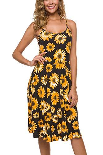 Malist Spaghetti Strap Dress Summer Casual Strappy Dress