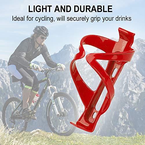 HASAGEI Bike Water Bottle Holder Bike Cup Holder Bottle Cage Drink Holder for MTB Bike 2 Pack