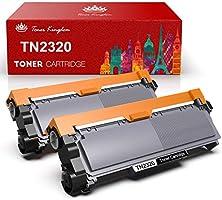 Toner Kingdom TN2320 TN-2320 Cartucho tóner Compatible Brother TN2320 2310 para Brother MFC-L2700DW MFC-L2700DN...