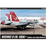 Toys 4 U 7777 [Academy] Plastic Model Kit 1/72 F/A 18A+ USMC VMFA-232 RED Devils (#12520) /Item# G4W8B-48Q48167