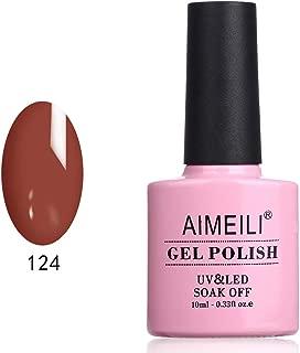 AIMEILI Soak Off UV LED Gel Nail Polish - Gleditsia Sinensis Lam (124) 10ml
