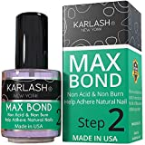 Karlash Professional Nail Primer Bond Non Acid & Non Burn 0.5 oz Help Adhere Natural Nails