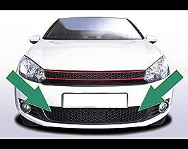 GTI Design Black Lower Front Bumper Mesh Euro Sport Grill For VW Golf MK6 6 10-14