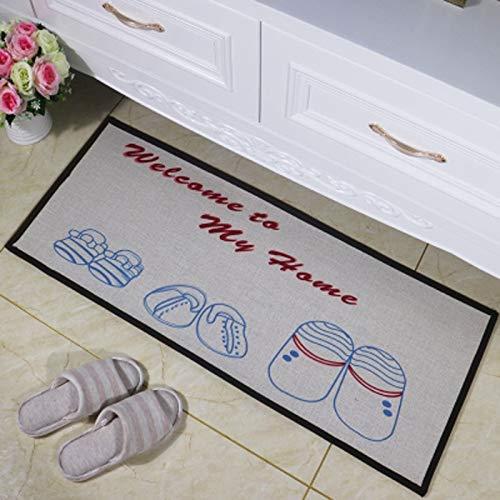 YSDDM Badmat Stijlvolle Deurmat 8 Ontwerpen 3 Maten Vloermat Zachte Tatami Keuken Tapijt Wasbaar Anti-slip Outdoor Deur Tapijt Pad Matten voor Vloermat van Huis & Tuin