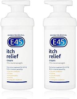 E45 Itch Relief Cream 500G *2