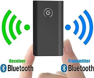 Bluetooth トランスミッター レシーバー ブルートゥース 送信機 受信機 bluetooth レシーバー bluetooth トランスミッター ワイヤレス レシーバー 高音質 低遅延 一台二役 2イン1 3.5mmオーディオデバイス対応 日本語取扱説明書同梱