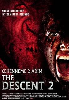 The Descent: Part 2 Movie Poster (27 x 40 Inches - 69cm x 102cm) (2009) Turkish Style C -(Shauna Macdonald)(Natalie Jackson Mendoza)(Krysten Cummings)(Gavan O'Herlihy)