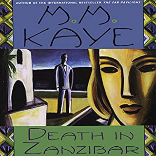 Death in Zanzibar audiobook cover art