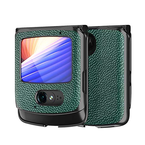 Hülle für Motorola razr 5G,PU Leder & PC Handyhülle Rückseite für Motorola razr 5G,Muster 8