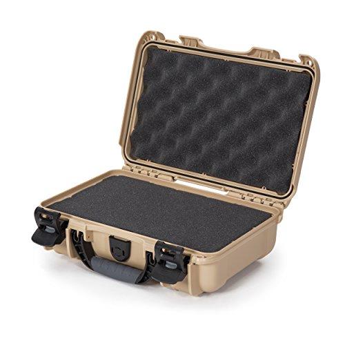 Nanuk 909 Waterproof Hard Case with Foam Insert - Tan