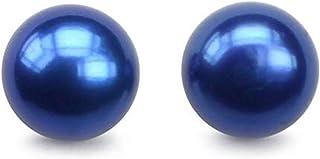 Aashya Mayro Simulated CZ Diamond Single Solitaire Crystal Stone Stud Earring for Women Girls