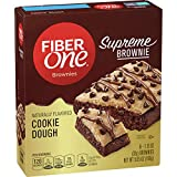 Fiber One Supreme Brownie Cookie Dough Brownies 5-1.13 oz. (Pack of 8)...