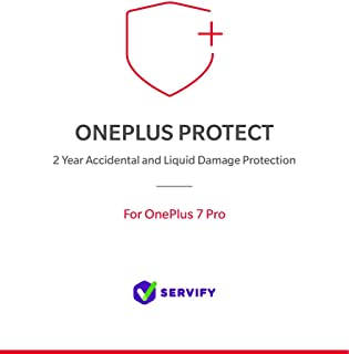 Servify OnePlus Protect - 2 Year Accident and Liquid Damage Protection Plan for OnePlus 7 Pro (8GB + 256GB)